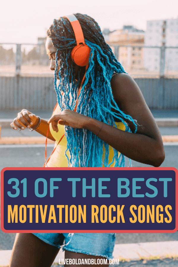 Are you feeling down and uninspired lately? Relax, chill, and listen to these motivational rock songs we