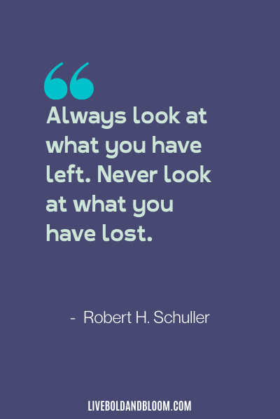 negative attitude quote by robert h. schuller