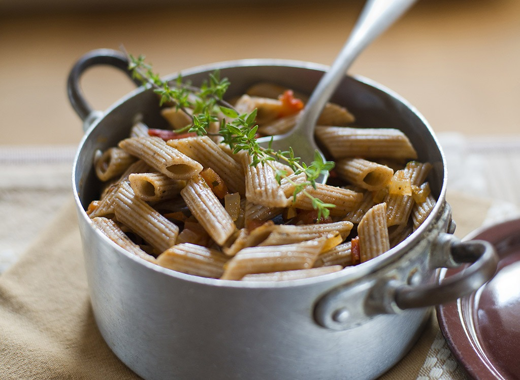 Whole wheat pasta - best ways to speed up your metabolism