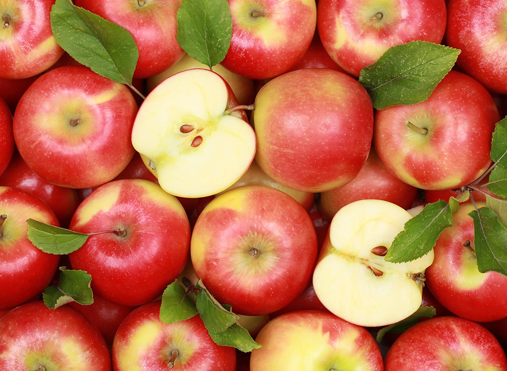 Red apples in bunch - best ways to speed up your metabolism