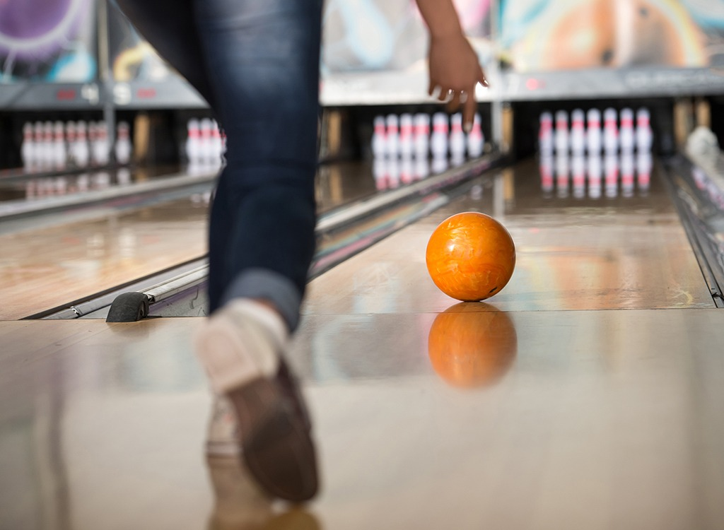 burn calories without a gym - bowling